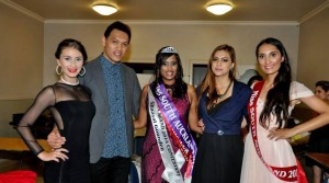 (Judge and Host) Nicole Fairbrother,(Judge) Terry Morrison, (winner) Shaayal Gounden, (Judge) Ankita Luthra and (Director)Sarah Brodrick